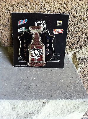 Pittsburgh Penguins Stanley Cup Champions Pin Conagra Foods  Mip  2008