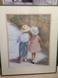 Ivan anderson lithograph framed