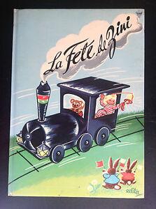 Livre-illustre-La-fete-de-Zini-Edita-Lito-TBE