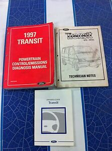 Ford VG Transit Van Diagnosis Manual & owners Guide Lonsdale Morphett Vale Area Preview