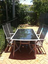Outdoor dining table and 6 chairs as new Ashgrove Brisbane North West Preview