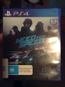 Need for Speed and Need for Speed Rivals PlayStation 4 PS4 Maryland Newcastle Area Preview