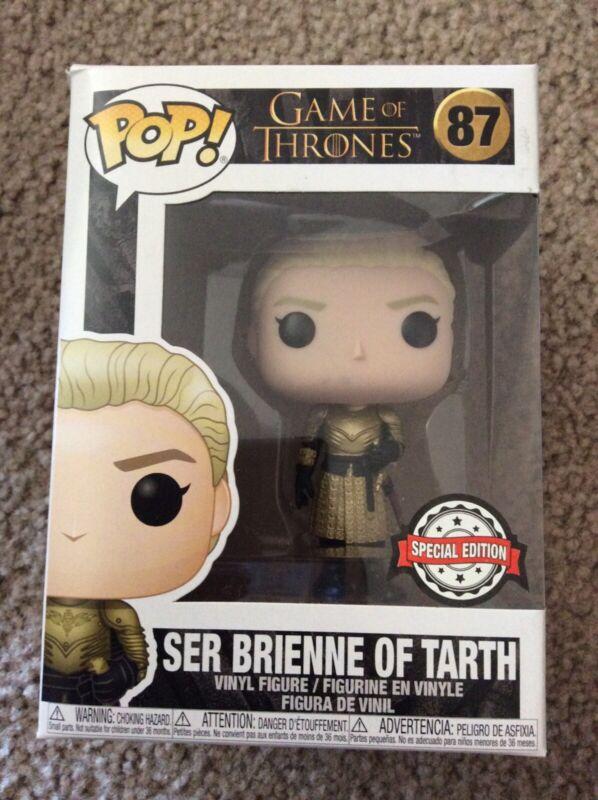 Vinyl Figure #87 Game of Thrones Ser Brienne of Tarth Exclusive Pop