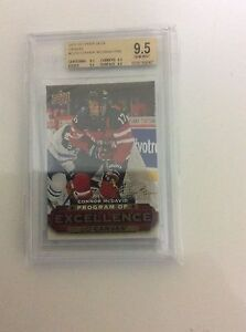 Connor McDavid Program Of Excellence BGS 9.5
