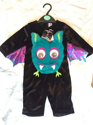 Sainsbury's Baby Halloween Costumes (BNWT SAINSBURY'S TU FANGTASTIC BAT CHILD/BABY FANCY DRESS HALLOWEEN)