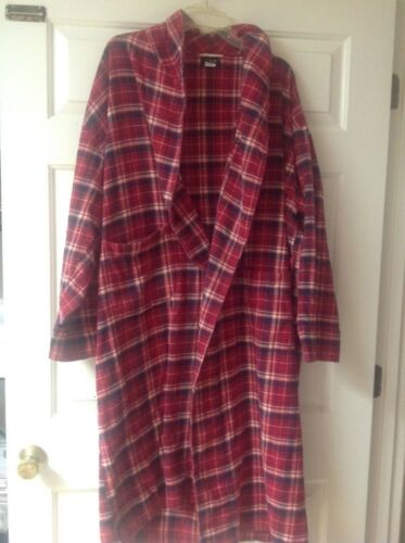 Vintage J Crew Red Plaid Flannel Men