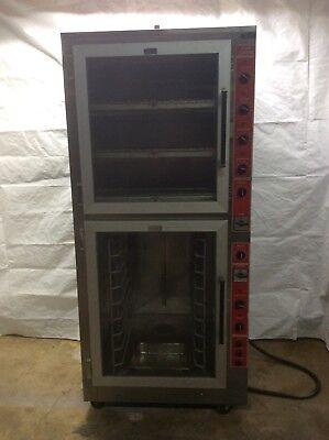 Super System Op-3 Proofer Oven Combination Tested 208v 3 Phase