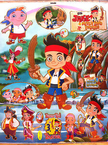 jake and the neverland pirates wall stickers ebay disney jake and the neverland pirates collection wall