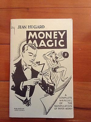 Vintage Jean Hugard Money Magic Complete Manual Manipulation Of Paper Money Book