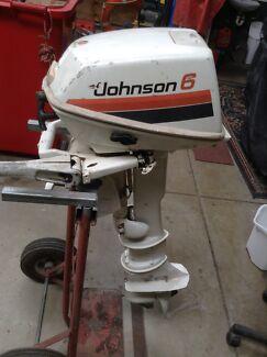 Johnson Auxiliary Motor