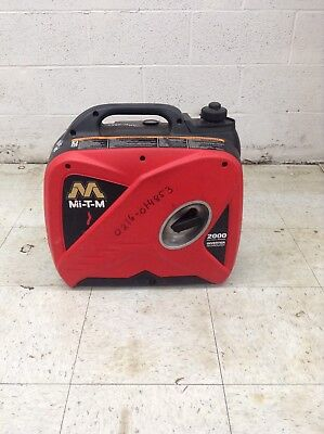 Mi-t-m 2000 Watt Portable Generator Emergency Hurricane Backup Power Inverter