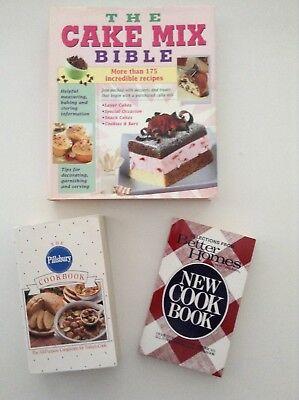 The Cake Mix Bible, The Pillsbury Cookbook, & Better Homes & Gardens (The Best Cake Mix)