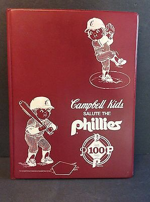 Campbells Soup Company Campbell Kids Salute The Philadelphia Phillies 1983