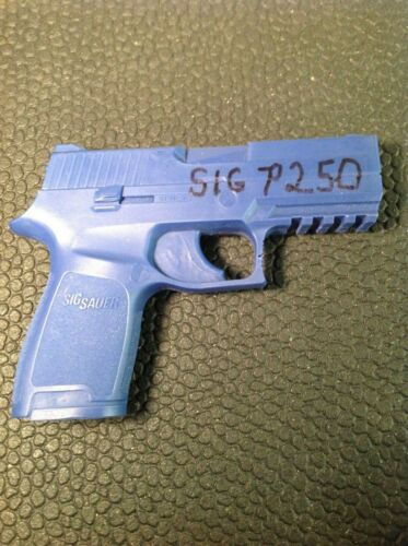 Rings Blue Gun Sig Sauer P250 with rail