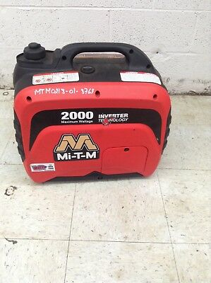 Mi-t-m 2000 Watt Inverter Generator Emergency Hurricane Stand By Portable Power