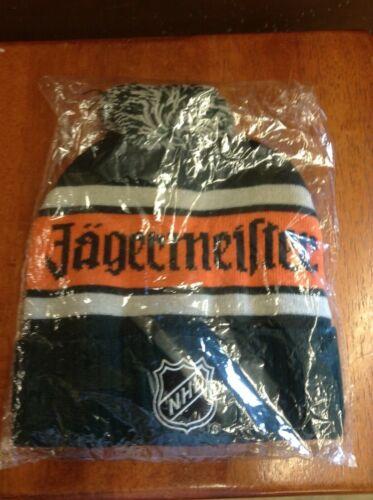 Jagermeister NHL Hockey Tassel Beanie Hat NEW