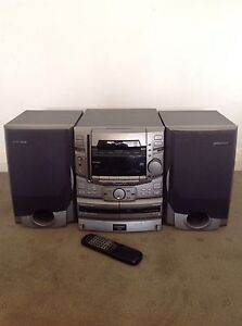 Pioneer Stereo System , 25 CD stack, 100w speakers, double tape Novar Gardens West Torrens Area Preview