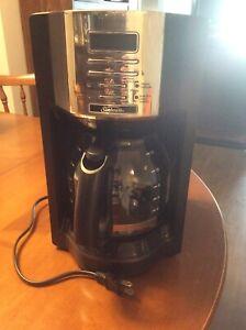 Sunbeam 12 cup programmable coffee maker