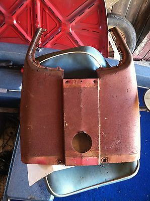 Farmall 504 Row Crop Tractor Original Factory Ih Hood For Over Gas Tank