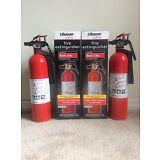 2 - Fire Extinguisher Basic Use 1-A:10-B:C w/Bracket