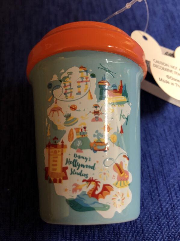 Disney Parks Starbucks Hollywood Studios Icons Ceramic Tumbler Ornament