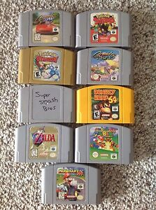 Nintendo 64 n64 games- prices listed