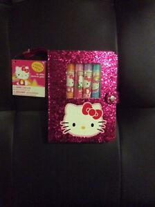 Hello Kitty Lip Balm & Notepad