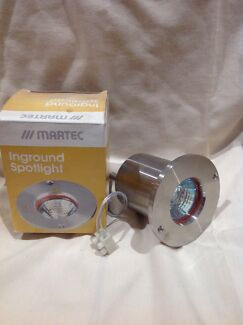 Outdoor lighting 8 x   In ground stainless steel (NEW)