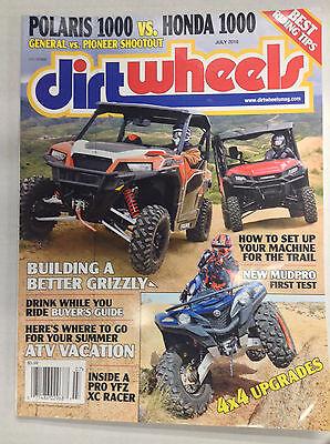 Dirt Wheels Magazine Building A Better Grizzly YFZ XC Racer July 2016 (Best Dirt Bike Wheels)