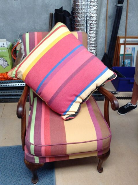 French Striped Armchair | Armchairs | Gumtree Australia ...