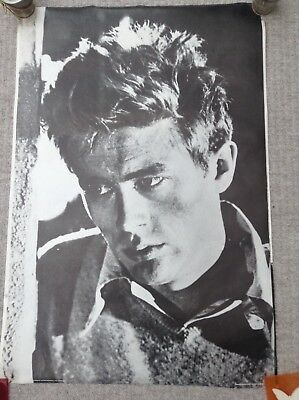 1978 vintage James Dean Poster Hollywood Icon Star B&W 62x94cm for sale  Shipping to South Africa