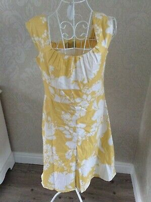 JULIAN TAYLOR LADIES LOVELY FLORAL VINTAGE STYLE TEA DRESS SIZE UK 8