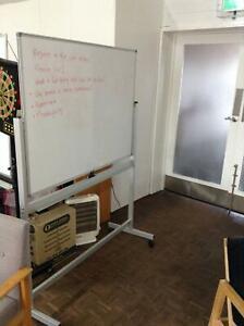 Large Freestanding Whiteboard