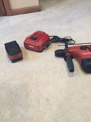 Hilti Te6-a36 Rotary Hammer Drill With Charger And Battery.
