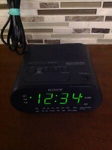 SONY DREAM MACHINE DUAL ALARM FM/AM DIGITAL CLOCK RADIO