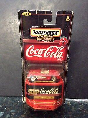 1999 Matchbox Coca-Cola 1957 Corvette Convertible 1/64 Scale NIB