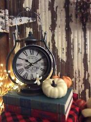 Retro Looking Tabletop Clock