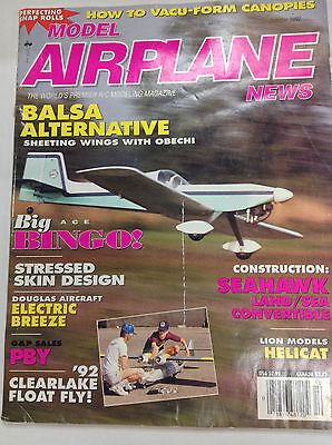 Model Airplane News Magazine Balsa Alternative October 1992 Fal 042617Nonr2