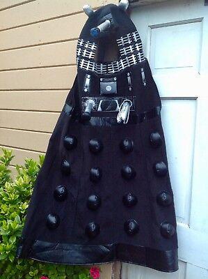 Dr Who Boys Costume (TALKING BBC DR DOCTOR WHO BLACK DALEK COSTUME BOYS S 5 6 TALKS)