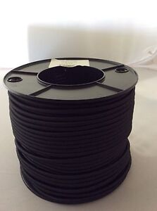Shock Cord – Bungee Cord 6mm x 10m High Tenacity Polyester Covered Rubber Cord.