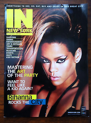 Rihanna  the performer on the cover of In New York Magazine August 2010