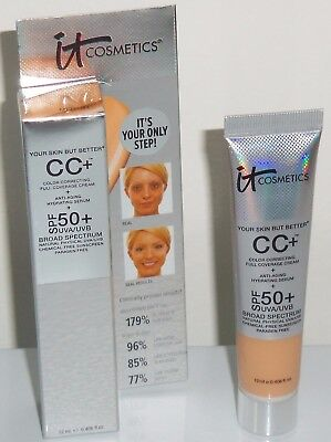 It Cosmetics Your Skin But Better CC Cream - MEDIUM -0.406ozTravel/BRAND NEW