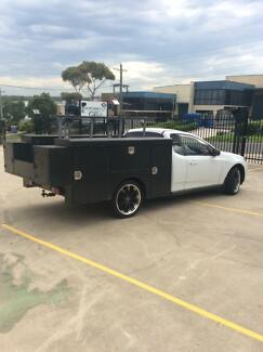 2008 Ford Falcon Ute Wetherill Park Fairfield Area Preview