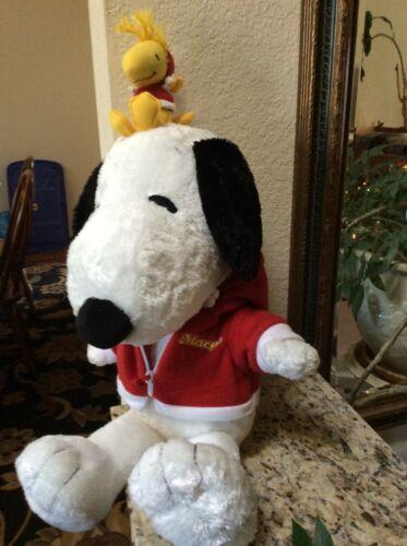"Snoopy & Woodstock Peanuts 17"" Macy"