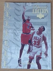 1995-96 Upper Deck Special Edition Gold #180 Chris WEBBER - France - 1995-96 Upper Deck Special Edition Gold 180 Chris WEBBER SHIPPING WORLDWIRE - France