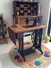 Singer treadle sewing machine Redlynch Cairns City Preview