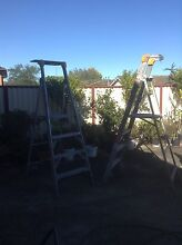 Industrial platform ladders 1.2m Campsie Canterbury Area Preview