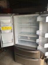 LG 4 door ice and water fridge freezer Sandgate Brisbane North East Preview