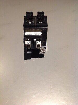 Pushmatic P1515 Tandem 1 Pole Circuit Breaker Spacesaver