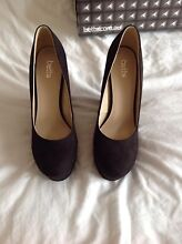 Fabulous Black Betts Wedges Size 9 - 10 Brand New! Paid $99.99 Coogee Cockburn Area Preview